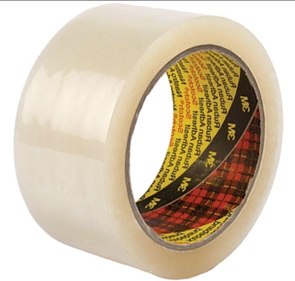"18 x Brown Tape Rolls SCOTCH 3M Size 48mm 2/"" x 66m Packaging Parcel Postal Box"