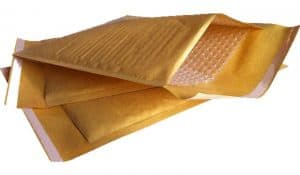 Bubble Lined Envelopes (Own MP Brand) - GOLD