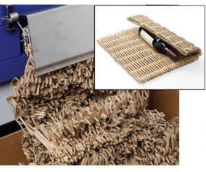 Cardboard protective matting