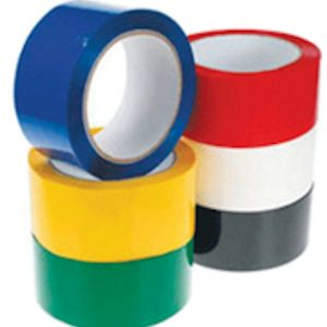 48mm x 66M (28 micron) Coloured Tapes