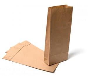 Kraft Paper SOS Block Bottom Bags