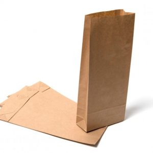 Kraft Paper SOS Block Bottom Bags