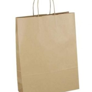 Kraft Paper Carriers - With Twisted Handles