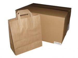 Kraft Paper SOS Carriers - With Handles