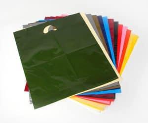 Coloured Varigauge Carrier Bags