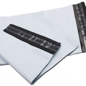 Co-ex White Mailing Bags