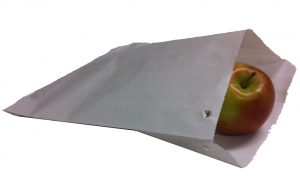 White Sulphite Strung Paper Bags