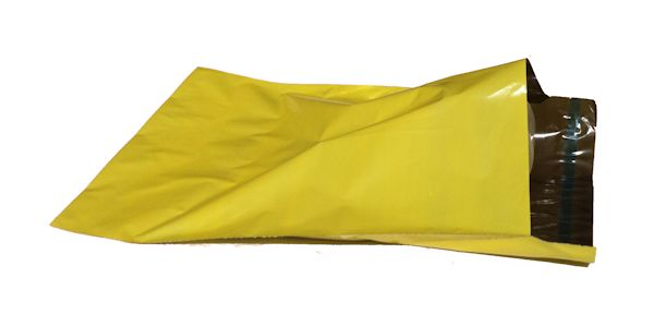 YELLOW Coloured Co-ex Mailing Bags